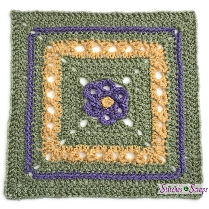 Block #11 in the Moogly Crochet Along, by Stitches n Scraps!