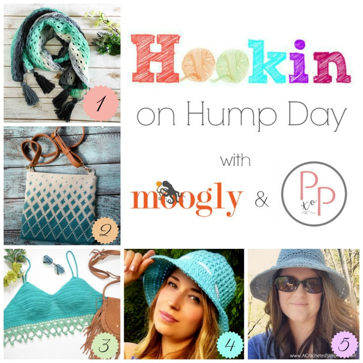Hookin On Hump Day 169 - Get each of these gorgeous crochet patterns on Moogly and Petals to Picots! And if you're a designer/blogger, be sure to add your own!