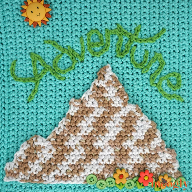 Mountain Applique by Moogly