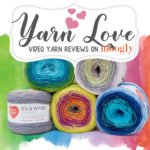 Yarn Love: Red Heart It's A Wrap Rainbow