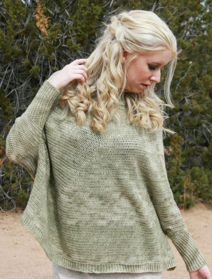 Coastline - get the pattern in Coastal Crochet by Karen Whooley!