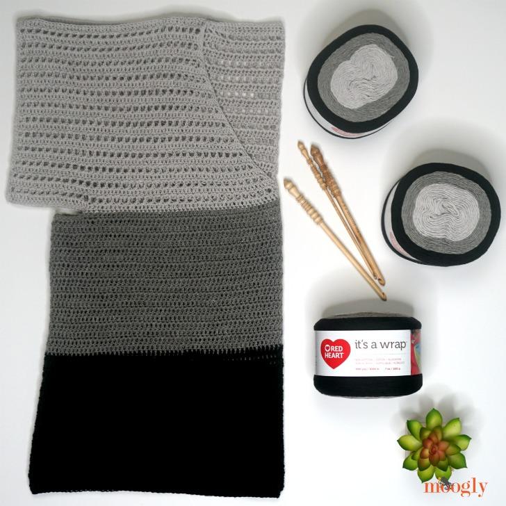 How to Crochet the Easy Cold Shoulder V-Neck Top