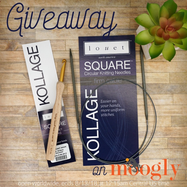 Kollage Square Crochet Hook & Knitting Needles Giveaway on Moogly - open worldwide!