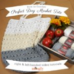 Perfect Day Market Tote Tutorial on Moogly
