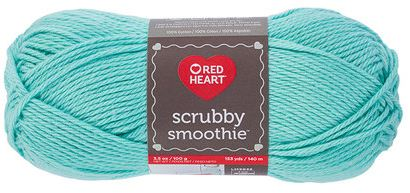 Red Heart Yarn Scrubby Smoothie