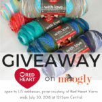 Red Heart With Love Stripes Giveaway