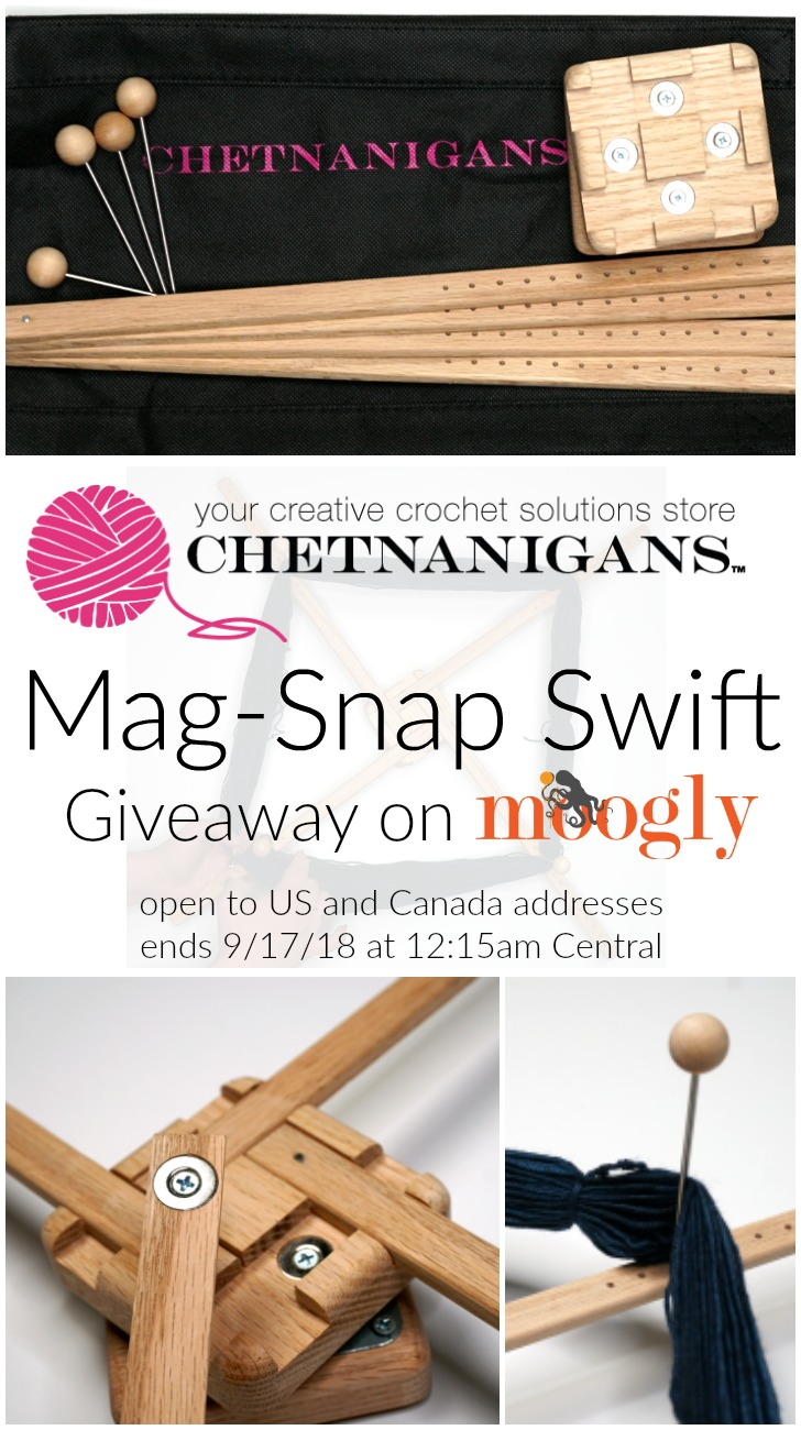 Win a Chetnanigans Mag-Snap Swift on Moogly!