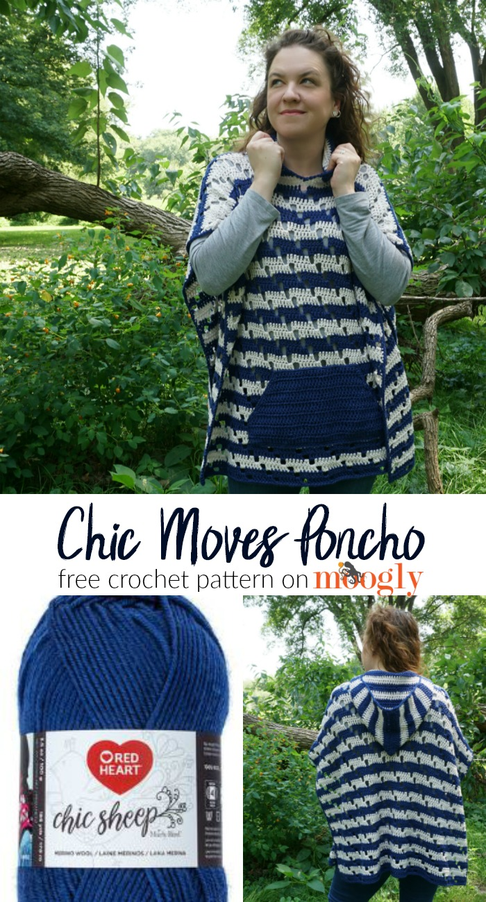2af33a05a1bd2 Mix · Chic Moves Poncho - Free Crochet Pattern on Moogly!