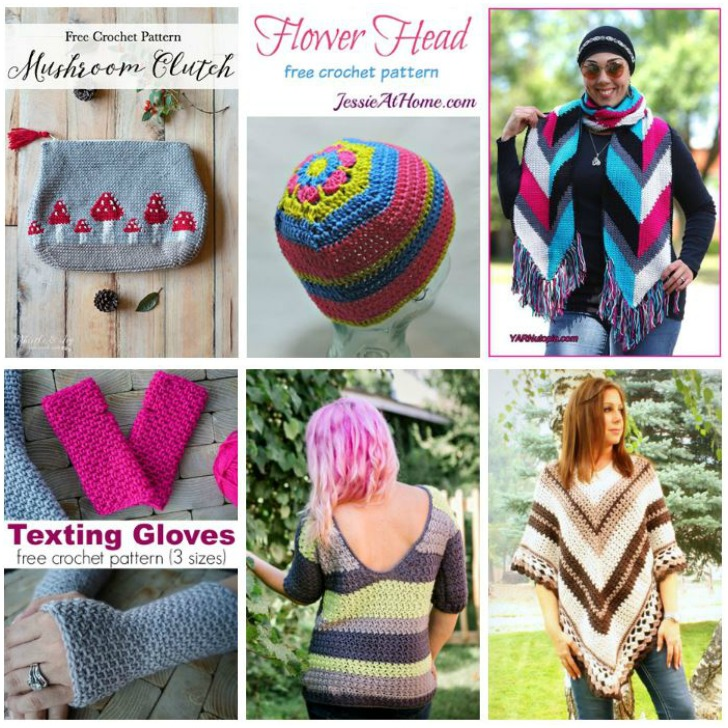 Chic Sheep Designer Blog Tour - check out all these gorgeous new free designs featuring Chic Sheep by Marly Bird yarn! ♥
