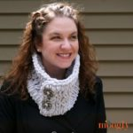 Crossed Loops Cowl - 2 great looks in one easy pattern - no crochet or knitting needed!
