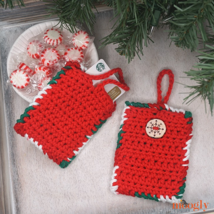 Hanging Gift Card Holder and Luggage Tag - sm