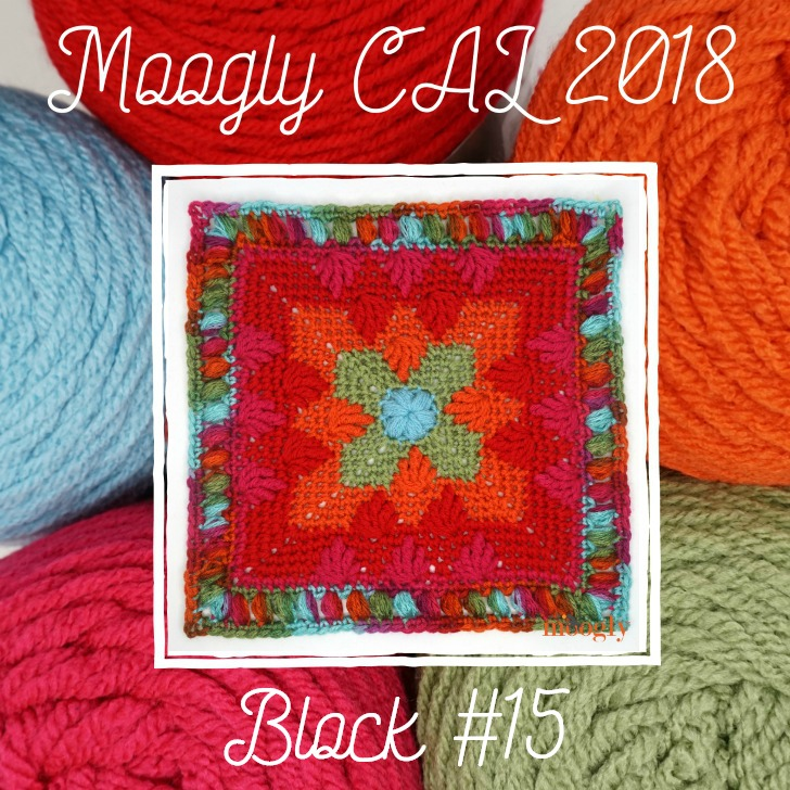 MooglyCAL2018 Block 15 by Briana K Designs
