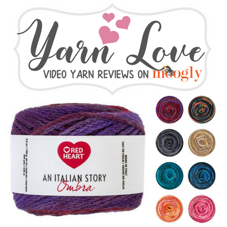 Red Heart An Italian Story Ombra - learn more about this beautiful yarn on Moogly!