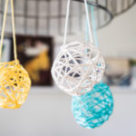 DIY Yarn Lanterns by Moogly, for FaveCrafts