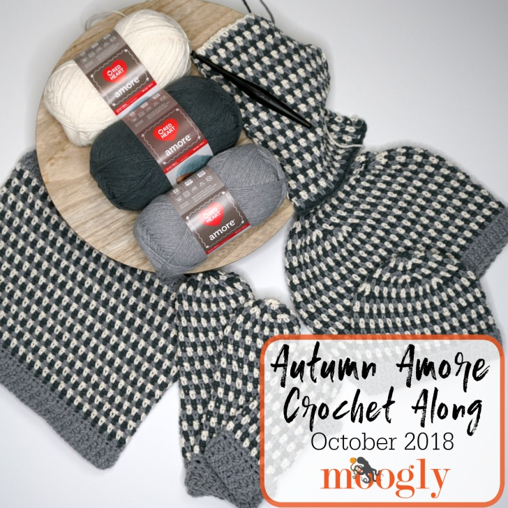 Autumn Amore Crochet Along - 4 free crochet patterns in 3 weeks on Moogly!