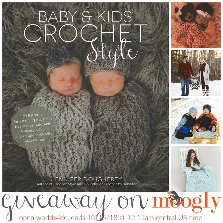 Baby & Kids Crochet Style - win this book on Moogly!