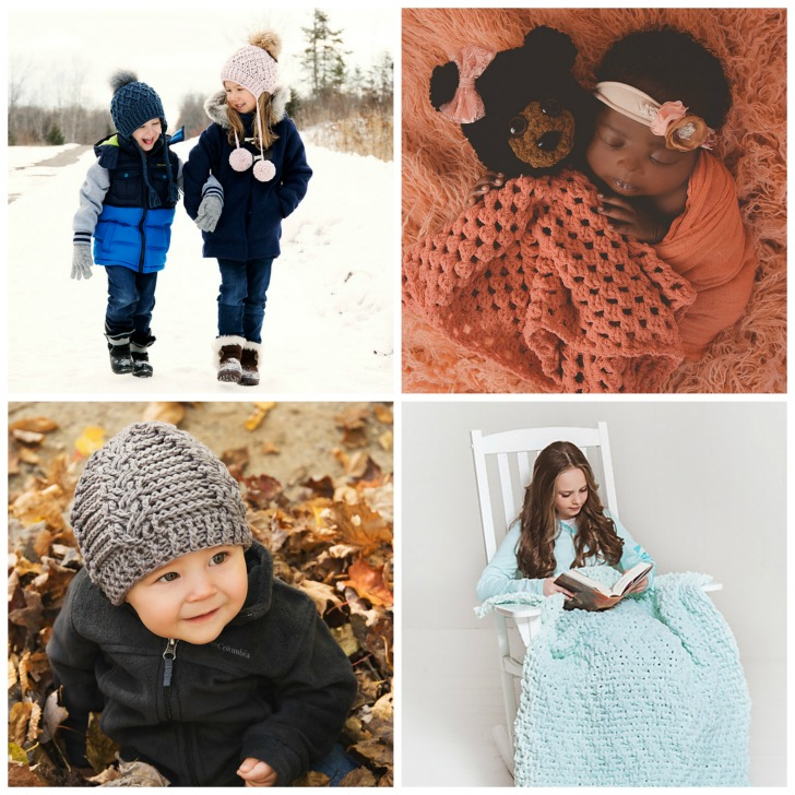 Baby & Kids Crochet Style - collage 1