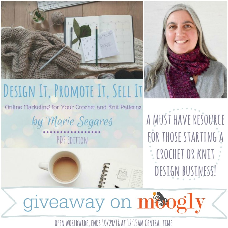 Win a copy of Design It, Promote It, Sell It by Marie Segares on Moogly!