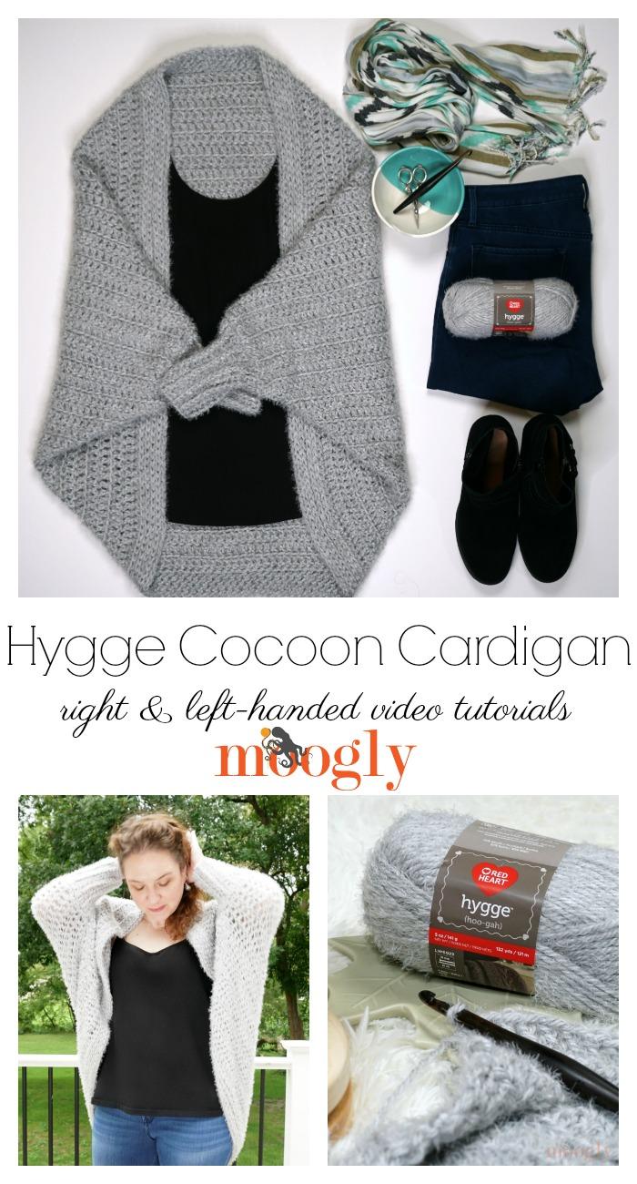 Hygge Cocoon Cardigan Tutorial
