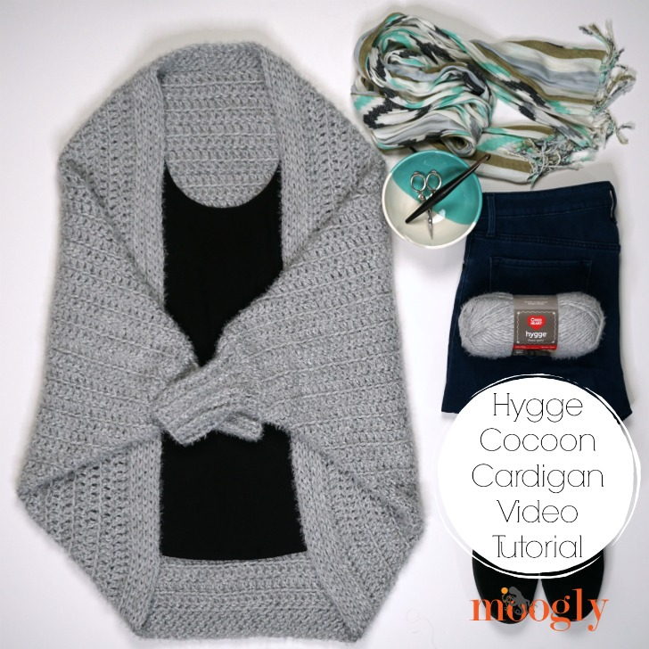 Hygge Cocoon Cardigan Tutorial