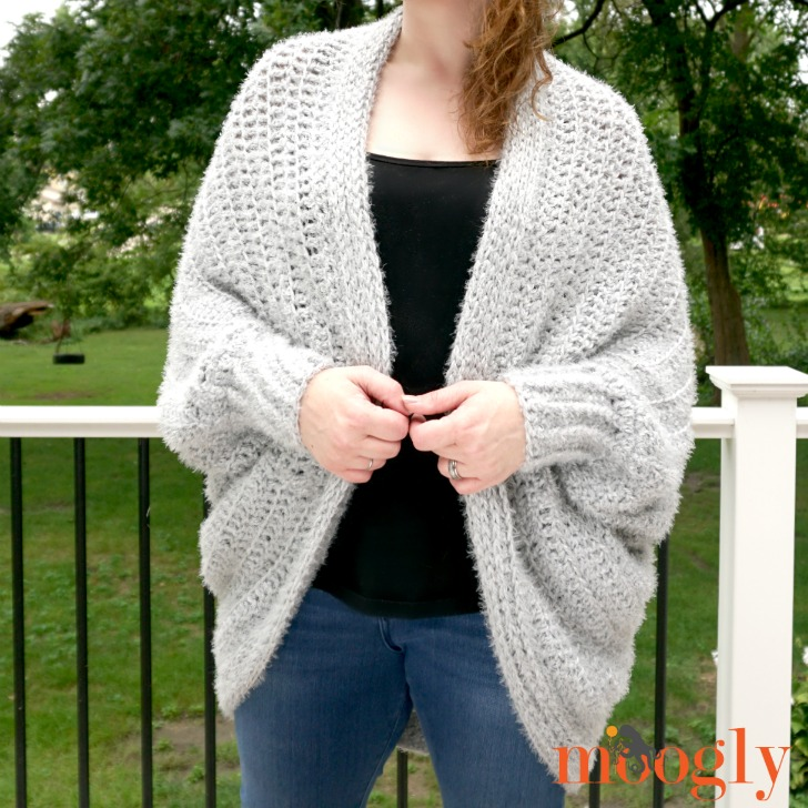 Hygge Cocoon Cardigan - another closeup