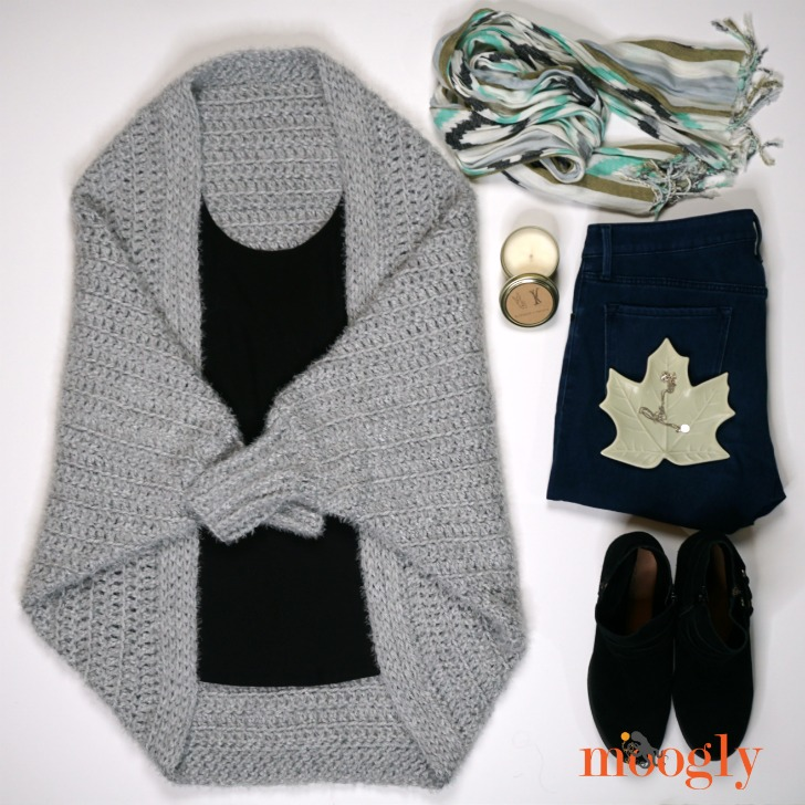 Hygge Cocoon Cardigan fashion flat lay photograph