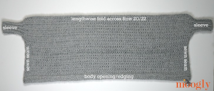 Hygge Cocoon Cardigan - Assembly overview