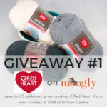 Red Heart Amore Giveaway #1