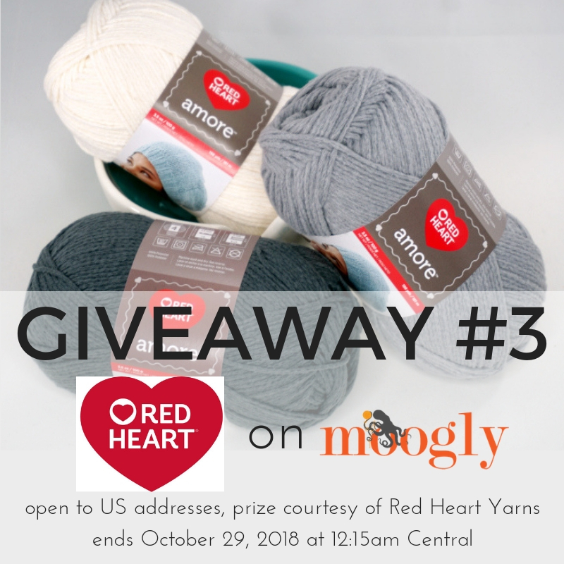Red Heart Amore - Giveaway on Moogly!