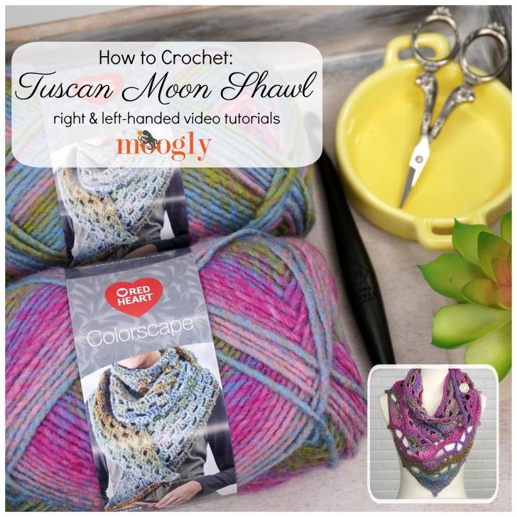 Tuscan Moon Shawl Video Tutorial