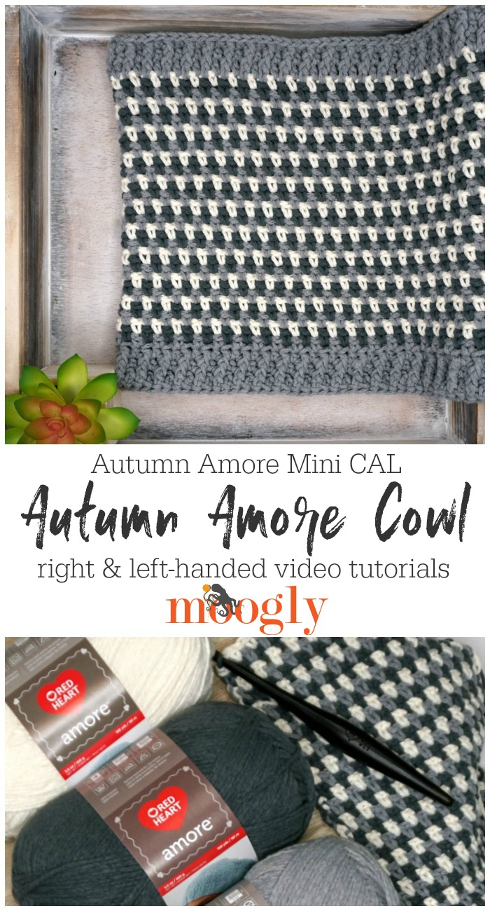 Autumn Amore Cowl Tutorial Pin