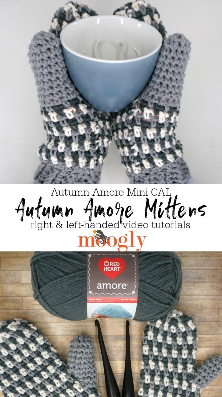 Autumn Amore Mittens Tutorial - PINSTA