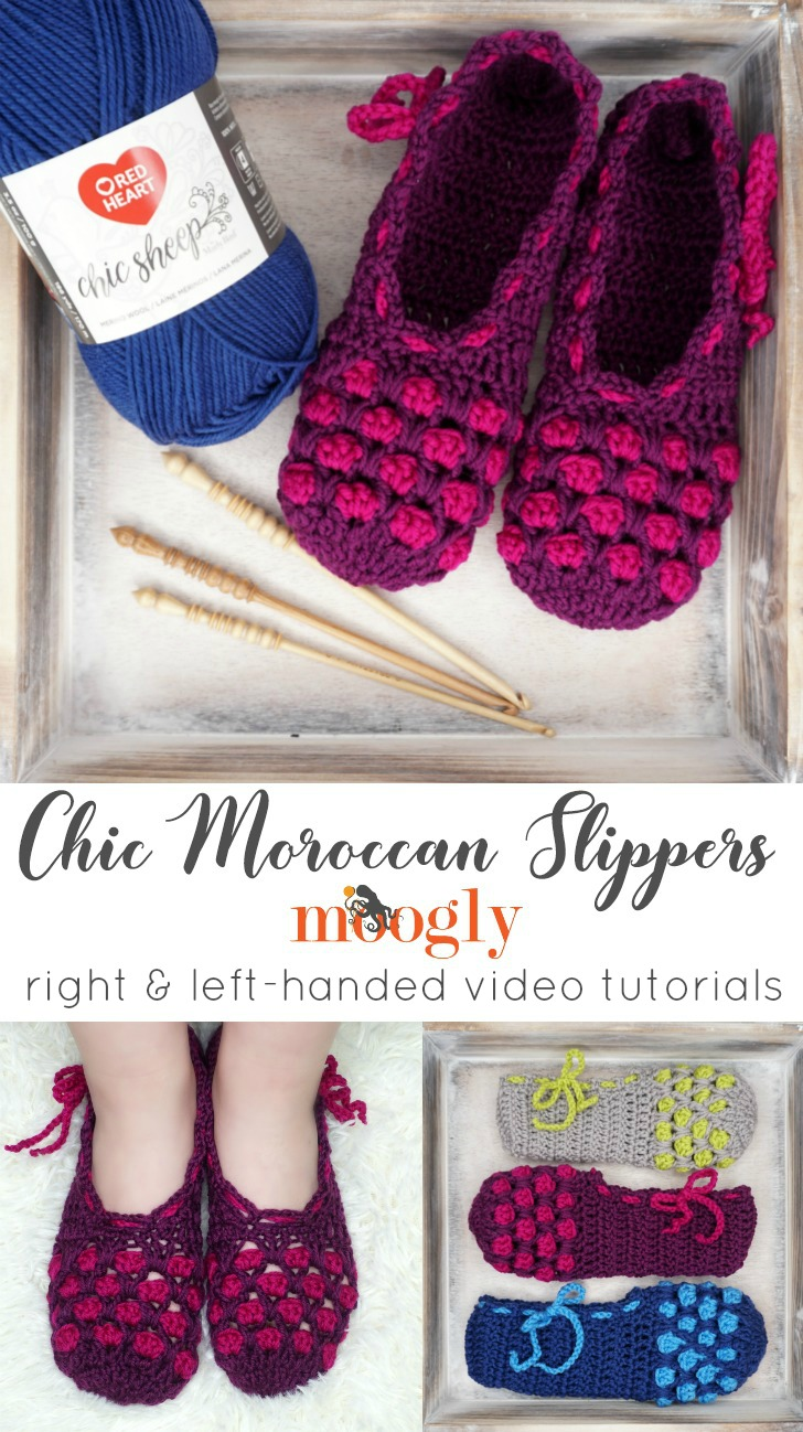 Chic Moroccan Slippers Tutorial - PINSTA