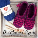 Chic Moroccan Slippers Tutorial
