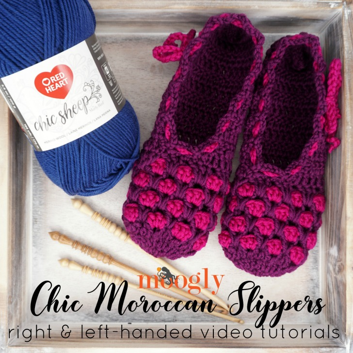 Chic Moroccan Slippers Tutorial - SM