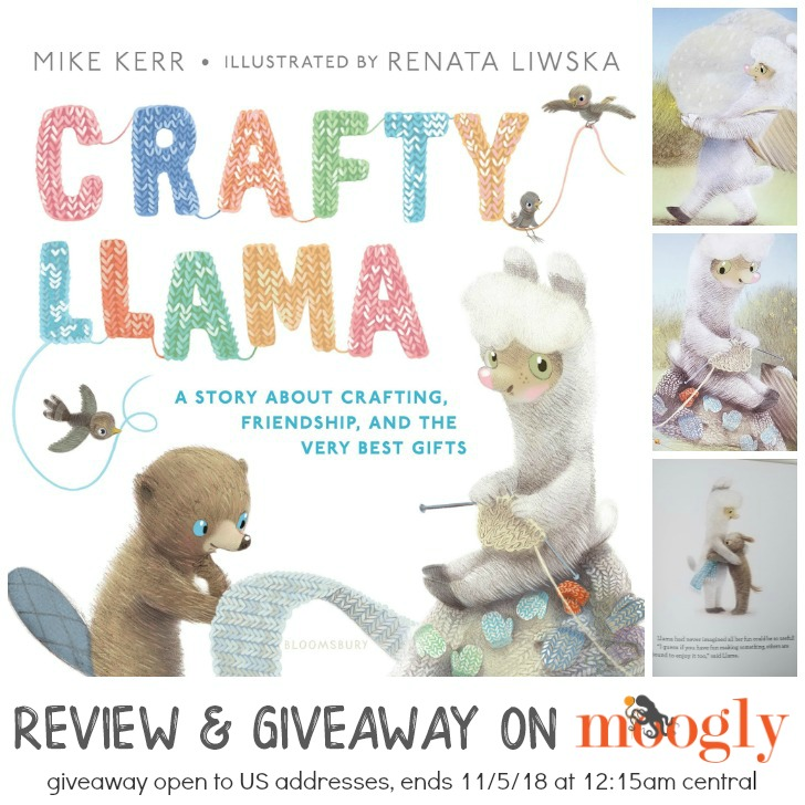 Crafty Llama Cover - Review and Giveaway on Moogly