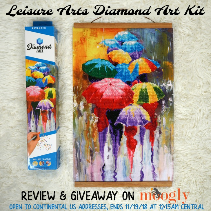 Diamond Art by Leisure Arts Giveaway on Moogly!