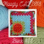 Moogly CAL 2018 – Afghan Block #22