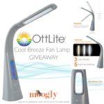 OttLite Cool Breeze Fan Lamp: Giveaway!