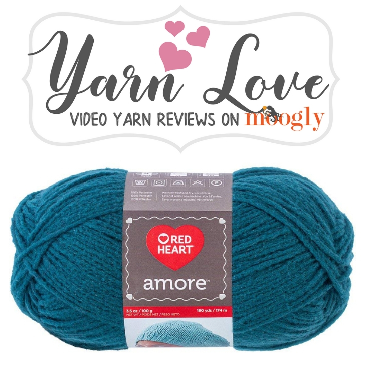 Yarn Love on Moogly - Red Heart Amore