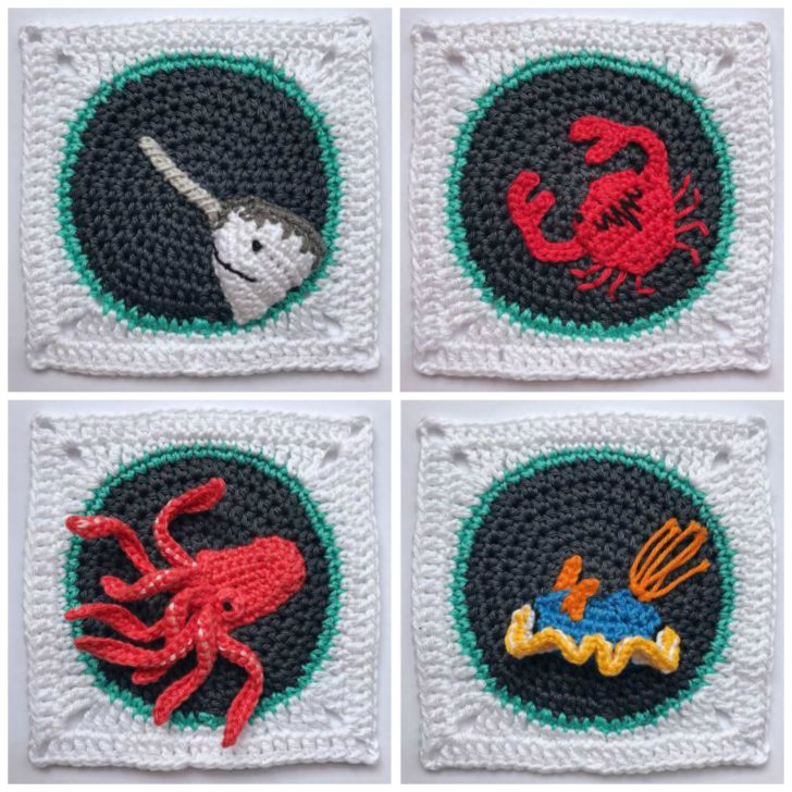Crochet A-B-Sea collage 2
