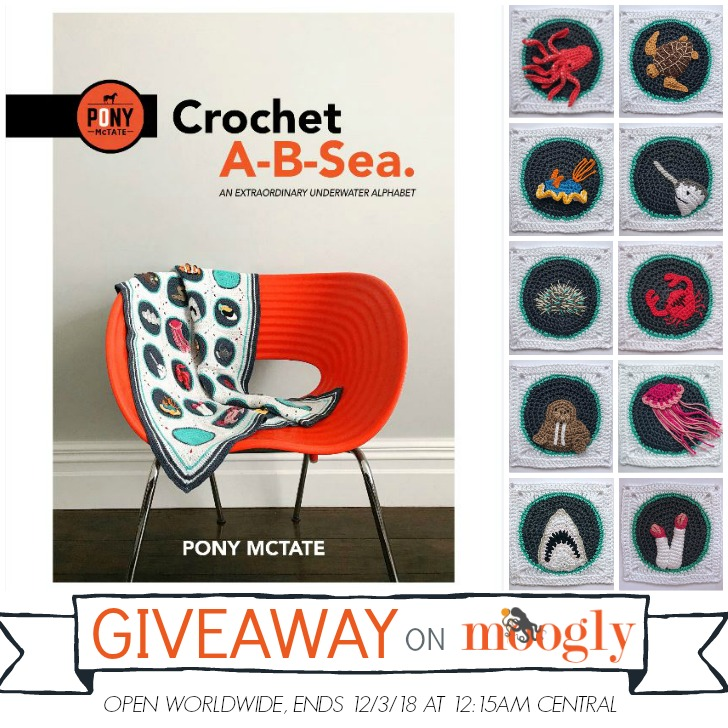 Crochet A-B-Sea Giveaway - on Moogly!