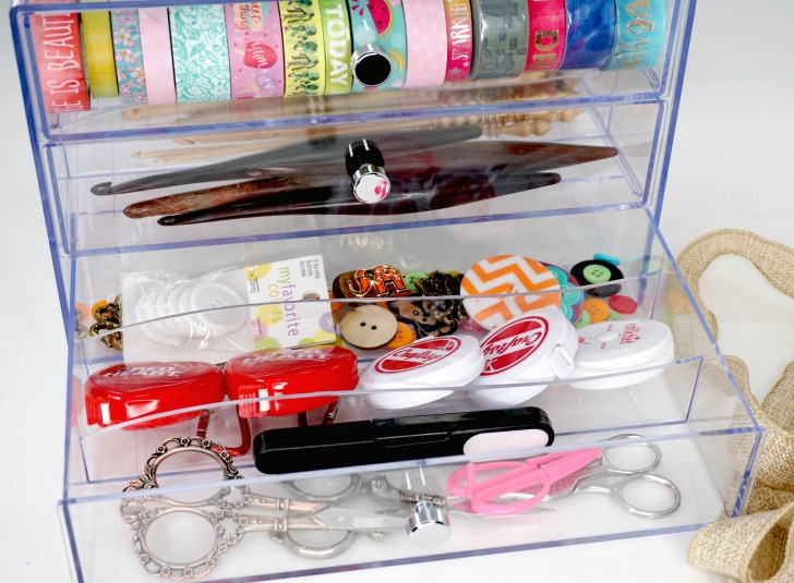 Deflecto Washi Tape (and More!) Storage Cube Giveaway - bottom drawer