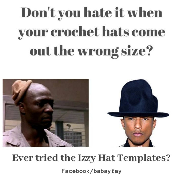 Ever tried the Izzy Hat Templates by Babay Fay?