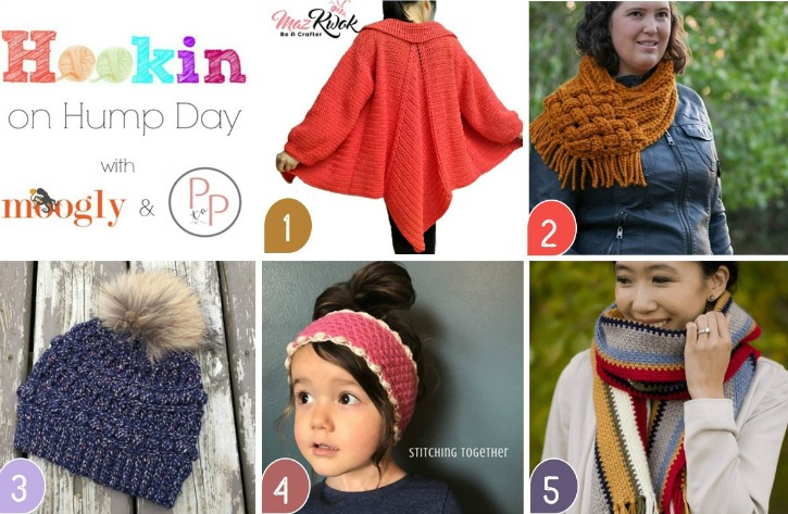 Hookin On Hump Day 178 Featured Patterns and Projects on Moogly
