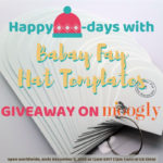 Happy Hat-days with Babay Fay Hat Templates: Giveaway!