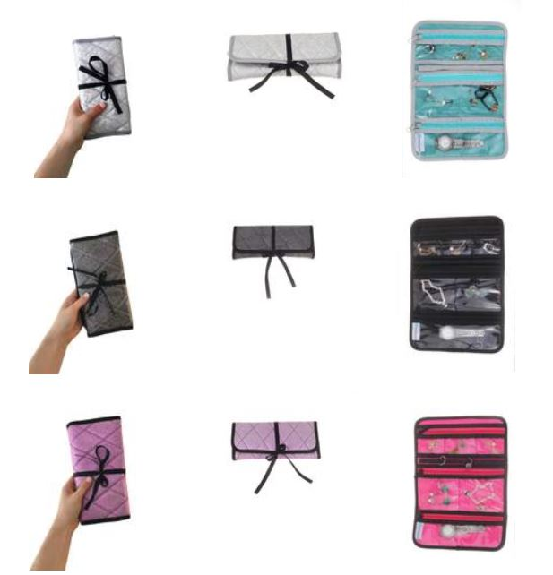 EzPacking Travel Jewelry Roll