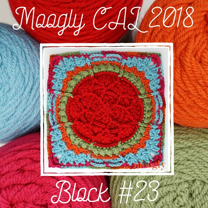 MooglyCAL2018 Block #23, courtesy of Kirsten Holloway Designs!