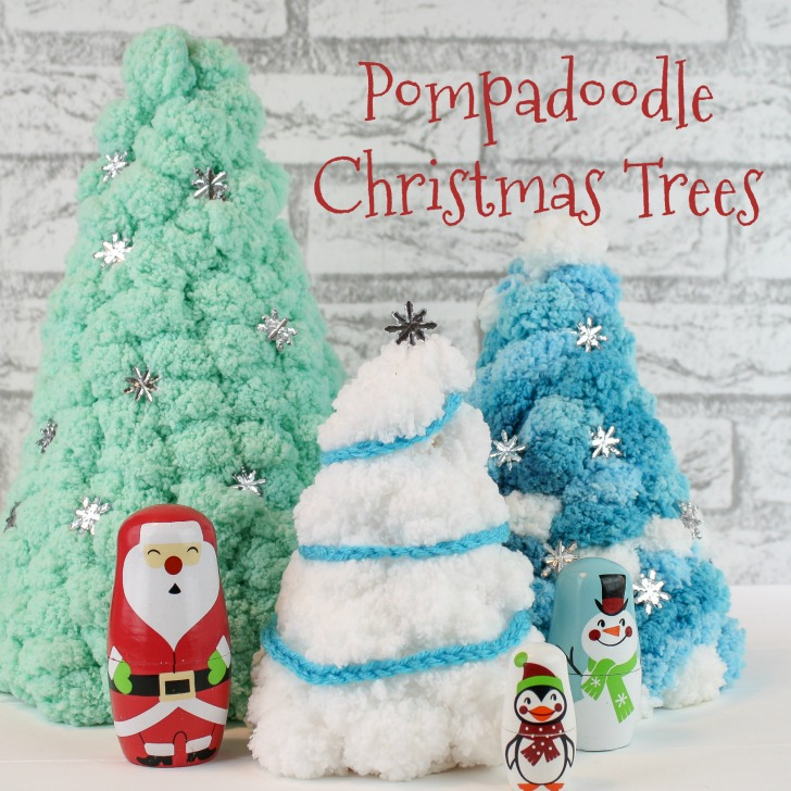 Pompadoodle Christmas Trees - SM