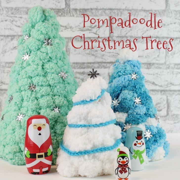 Pompadoodle Christmas Trees - SM